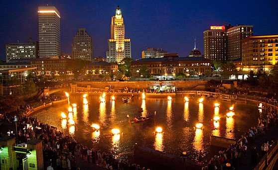 Creative placemaking conference at WaterFire Providence